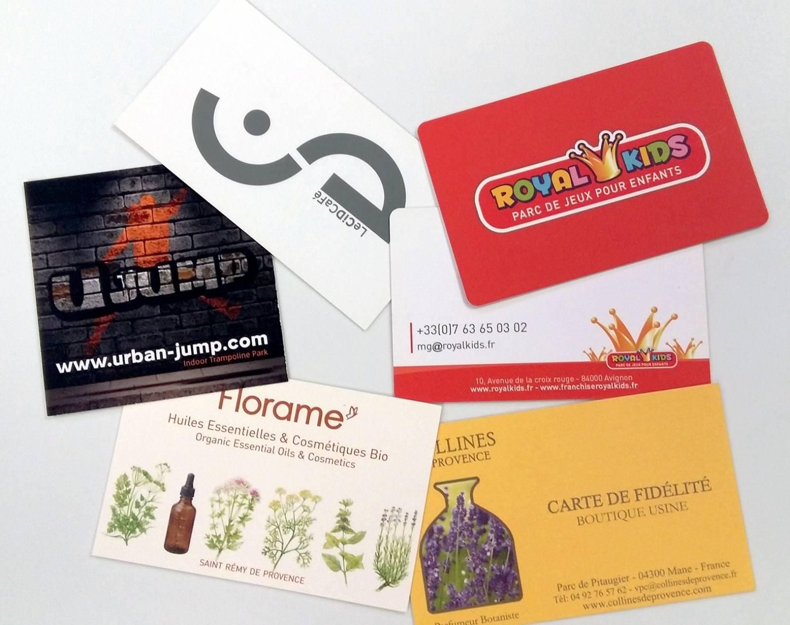 Cartes de visite