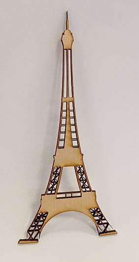 Découpe laser Tour Eiffel
