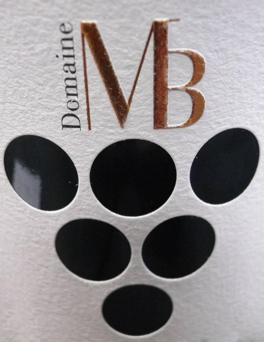 Evidage étiquette de vin
